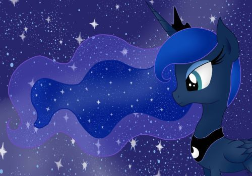 MLP: Princess Luna by palotasadel11