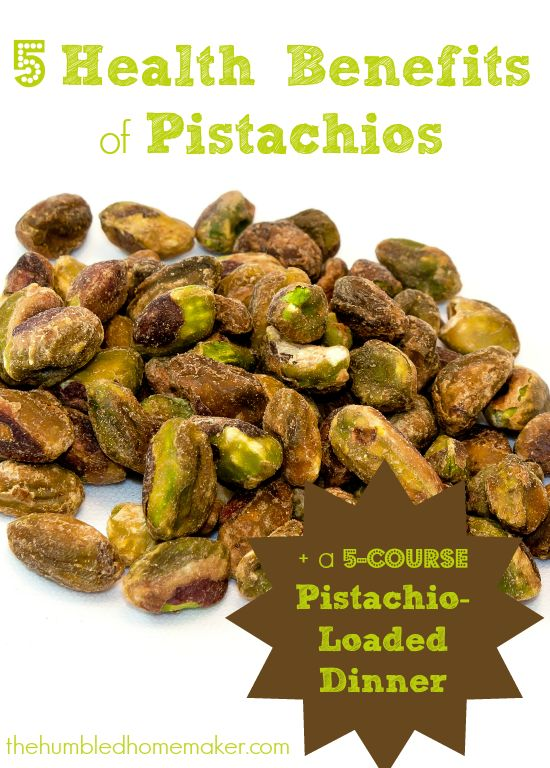 5 Health Benefits of Pistachios + a 5-Course Pistachio-Loaded Dinner!  thehumbledhomemaker.com