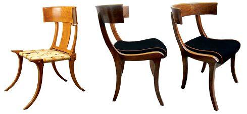Cadeira Klismos - origem grega