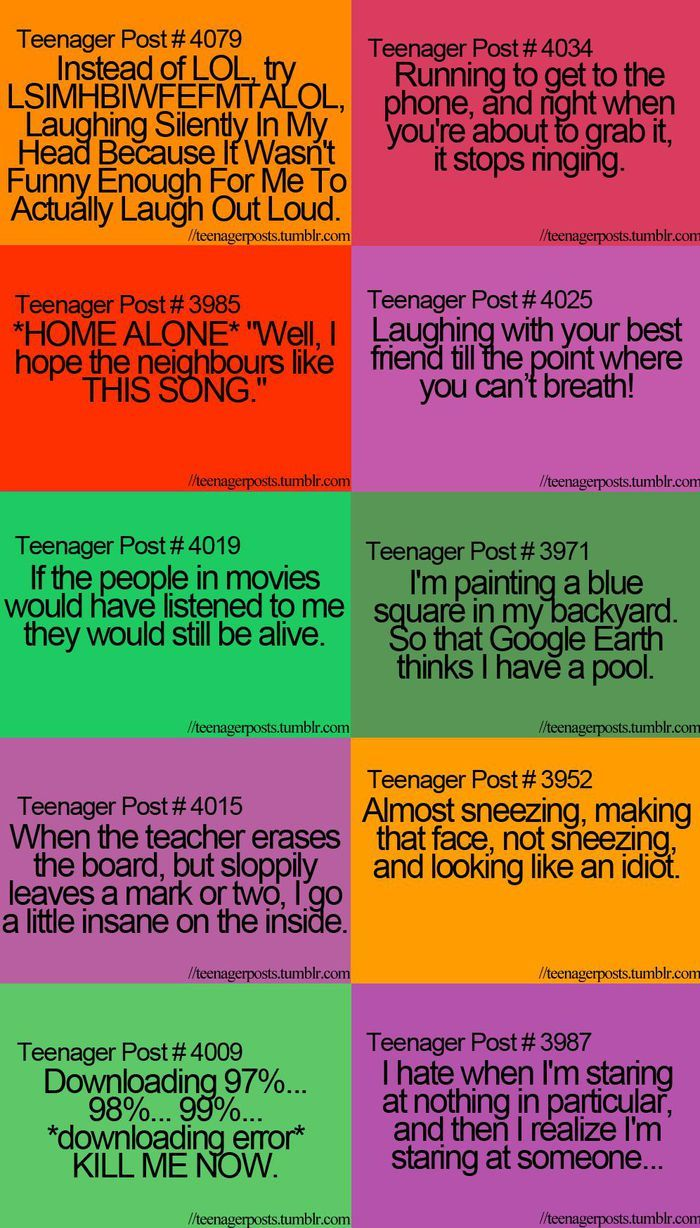 ALL of these are true for me