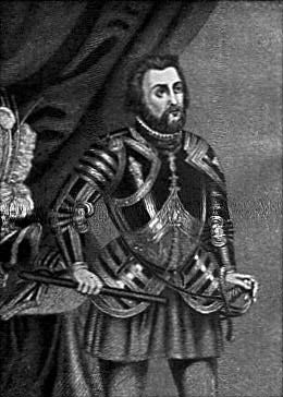 Hernán Cortés era un soldado español y un explorador que conquistó el imperio azteca en el centro de América. Cortez nació en Medellín en el oeste de España. primero se fue a Santo Domingo en República Dominicana y luego se trasladó a Cuba, donde conquistó la isla y luego se trasladó a México, donde estableció un acuerdo. La mayor parte de las Américas fue gobernada por el lider azteca Moctezuma el segundo, poco después de que Cortés llegó tomó Moctezuma como rehén