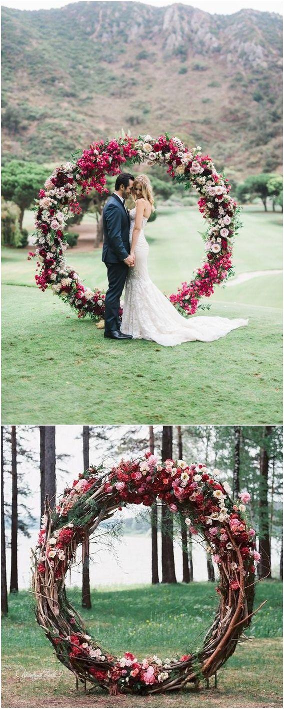 Top 20 Wreath & Circle Wedding Bows & Backgr …