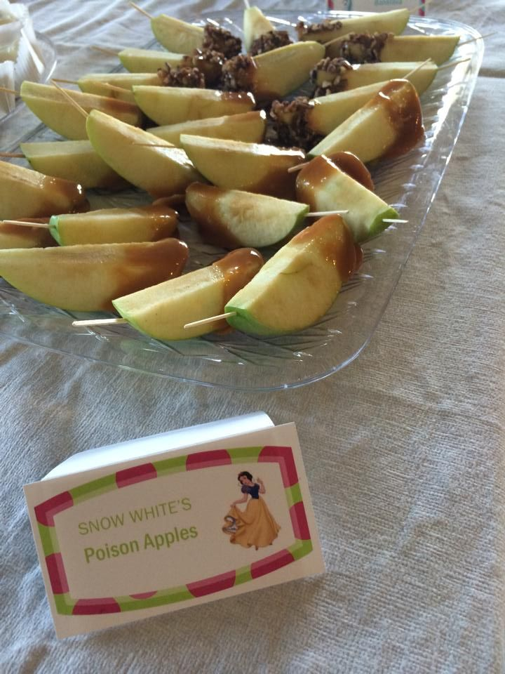 Princess Themed Bridal Shower Food