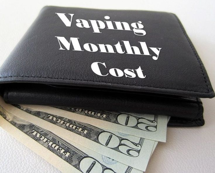 How Much Does Vaping Cost Each Month?
