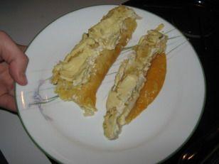 Cheese Enchiladas W/Sour Cream Sauce