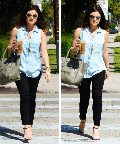 Lucy Hale street style #PLL #Aria