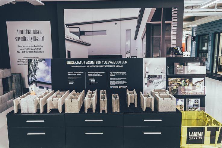 Uusi ajatus asumisen tulevaisuuteen. Myös Lammi-kivitalojen osaston löydät TaloTalosta! #kivitalo #Lammikivitalo #rakentaminen #talotalo