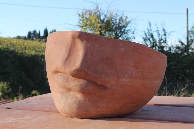 Pot heart / Vaso cuore #terracotta #Tuscany #handmade #vase #pot #wall #vase_heart  #vaso #cuore #heart #vaso_cuore #fatto_a_mano