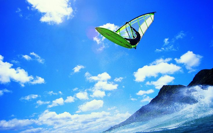 HDQ Images windsurfing