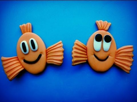 How To Make Fondant Fish Topper