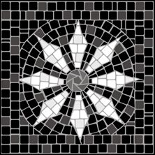 Mosaic motif