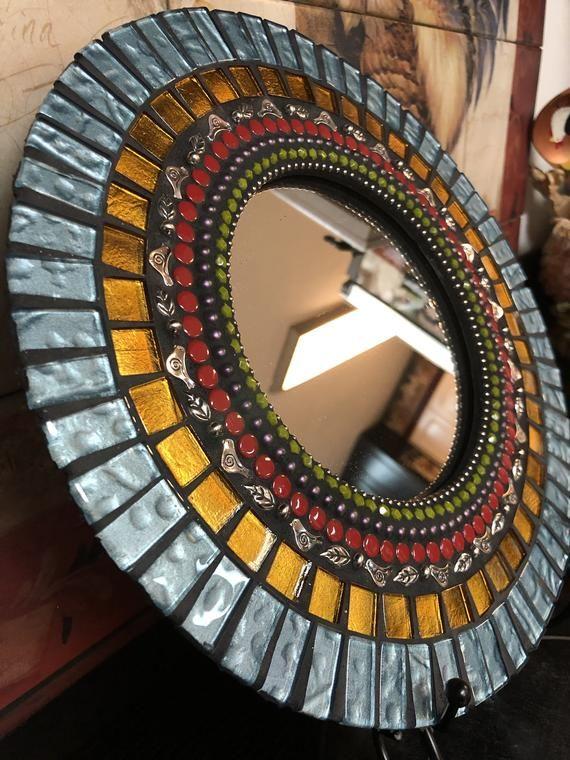 Entry Way Mosaic Mirror Etsy In 2020 Mosaic Mirror Mosaic Mirror