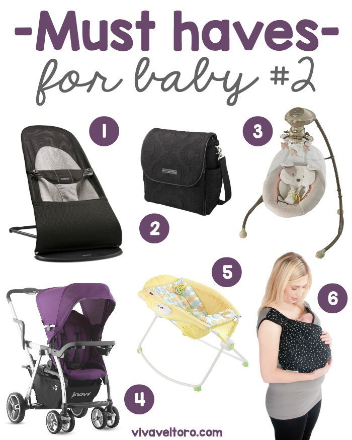 Second baby must haves! Do you know what you need for baby #2?