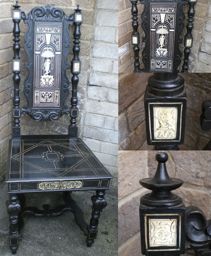 107 best images about chairs on pinterest vintage gothic for Victorian gothic chair