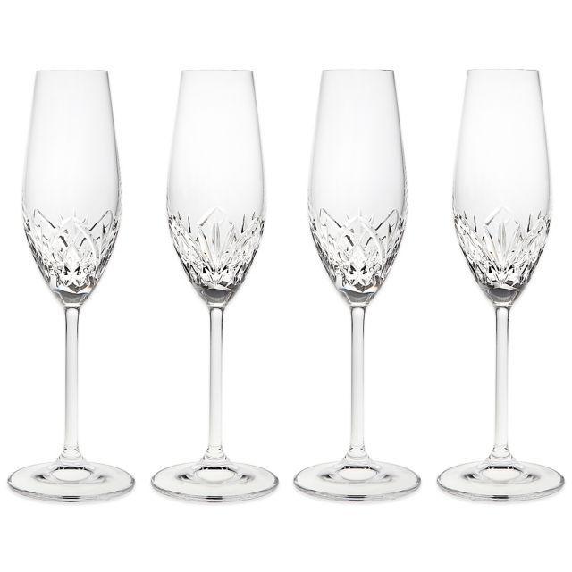 godinger dublin reserve champagne flutes set of 4