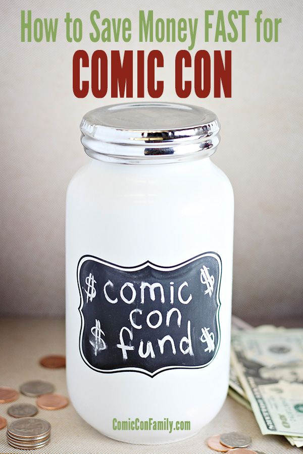 Headed to comic con and need more spending money for your trip? These tips will give you some ideas to save money fast for comic con this year.