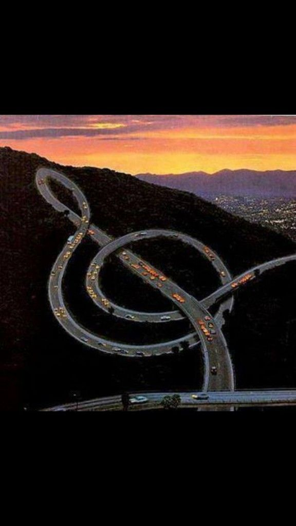 I'd drive this highway…..I have never seen this type of highway