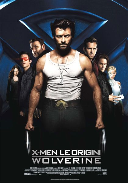 X-MEN LE ORIGINI: WOLVERINE (Un film di Gavin Hood. Con Hugh Jackman, Liev Schreiber, Danny Huston - USA/ Nuova Zelanda/ Australia 2009)