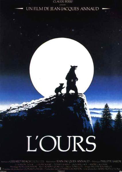 L'Ours de Jean-Jacques Annaud (1988) : affiches