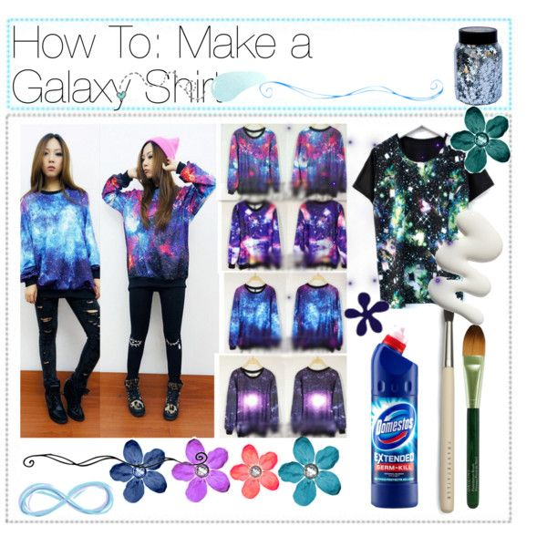 How to: Make A Galaxy Shirt - Polyvore