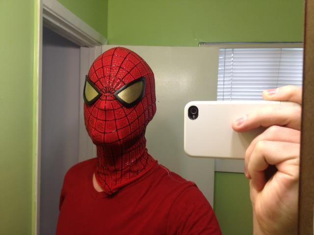 DIY Halloween : Amazing SpiderMan Replica Mask - DIY