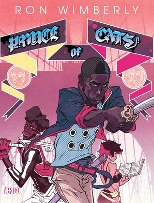 """A hip-hop retelling of William Shakespeare's Romeo and Juliet that focuses on Tybalt (derisively referred to as """"the Prince of Cats"""") and his Capulet crew as they do battle nightly with the hated Montagues. Set in a Blade Runner-esque version of Brooklyn, PRINCE OF CATS is a mix of urban melodrama, samurai action and classic Shakespearean theater...all written in Iambic Pentameter!"""