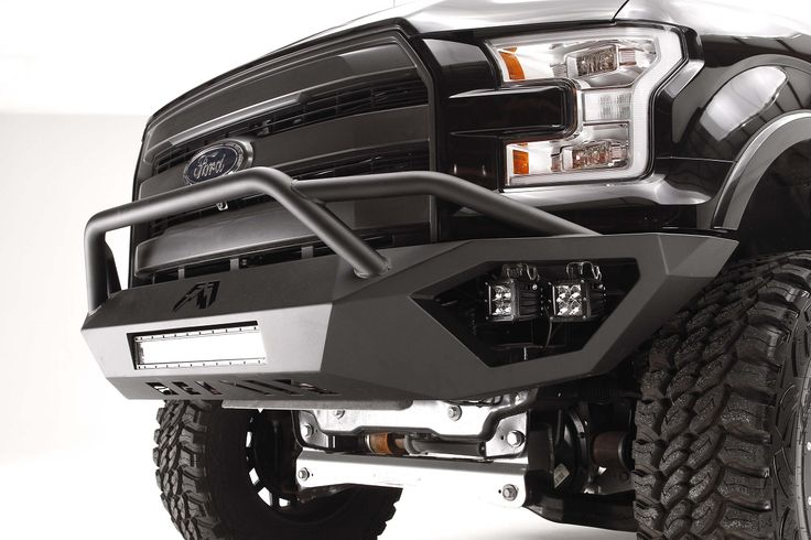 2015 F-150 Fab Fours Vengeance Front Bumper w/ Pre-Runner Guard