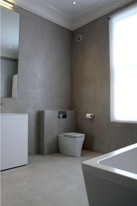 128 best images about bathroom shower room on pinterest for Tadelakt bathroom ideas