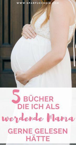 Liebe werdende Mama, diese 5 Bücher musst Du ganz unbedingt noch während Deine… – babydinge