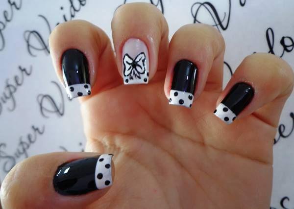 unhas desenhadas. nail art
