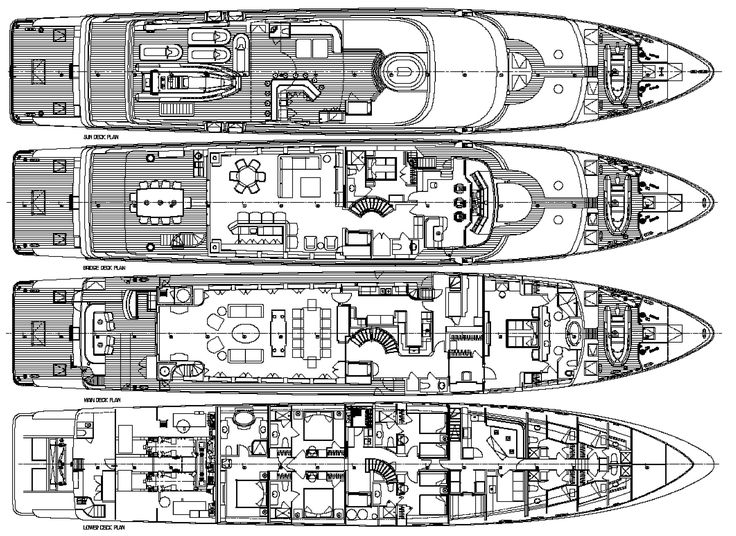 1000 images about ships and yachts on pinterest super for Boat floor plans