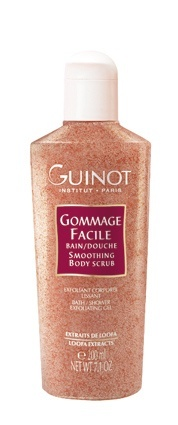 Guinot Gommage Facile is a perfect exfoliating body wash for all year around.. it removes dead skin cells, leaving skin smooth and glowing!