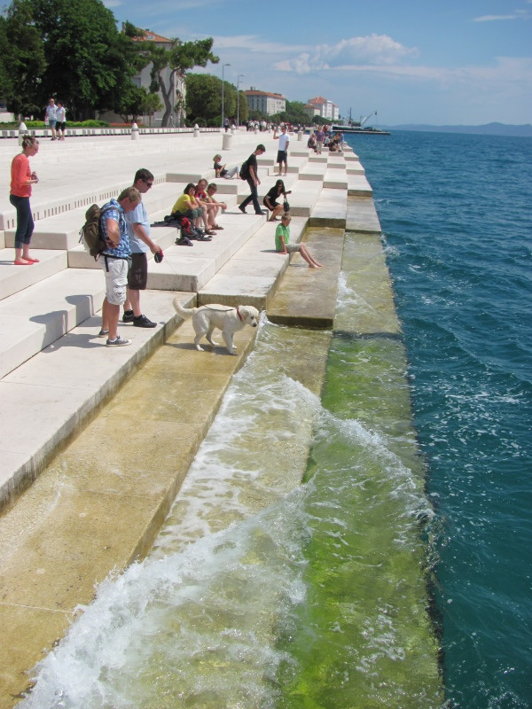 Nikola Basic: Sea Organ (in Zadar)