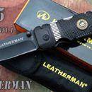 3376 Kapesní nůž záchranář LEATHERMAN Army 315:             Kapesní skládací nůž záchranář LEATHERMAN Army 315  -  Taktický kapesní zavírací nůž Leatherman Army 315 s kódovým označením 201020616811.1 z kvalitní oceli. Jednoruční palcové otevírání. Z boku vyklápěcí čepele s pilkou a druhý s otvírákem na lahváče i na konzervy a pohotovostním měřítkem.  - V zadní části integrovám záchranářský bodec na probíjení skleňěných výplní v případě nebezpečí. Pojistka nože je velmi bezpečná, typu Liner…