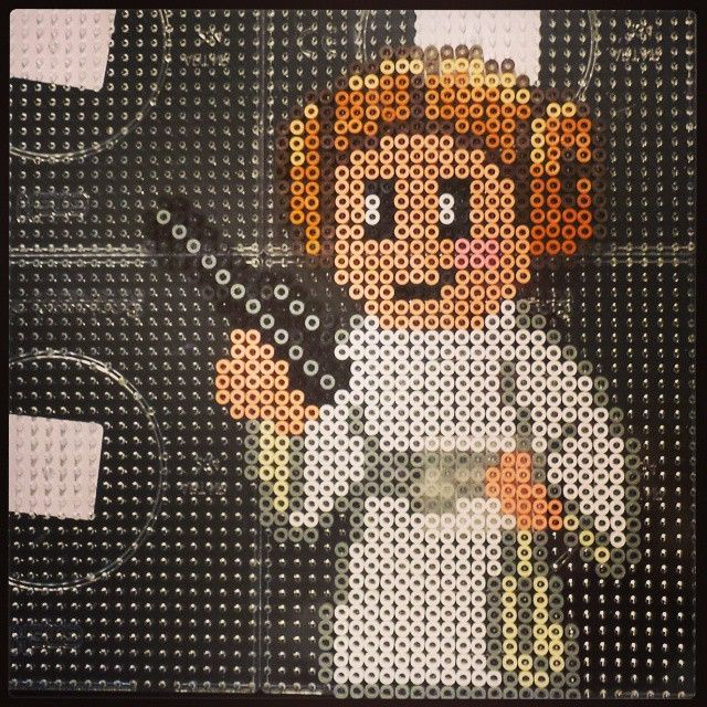Princess Leia - Star Wars hama perler beads by Luna de Feuth