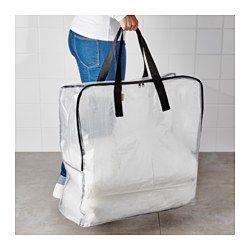 DIMPA 収納バッグ, 透明 - 65x22x65 cm - IKEA