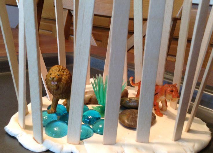 Play Dough Zoo Activity - Preschool Activity