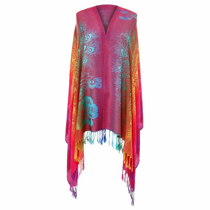 Fashion Vintage Boho Scarf Women Luxury Brand 2017 Bandana Floral Printed Ladies Poncho Summer Beach Silk Tassel Shawl Scarves