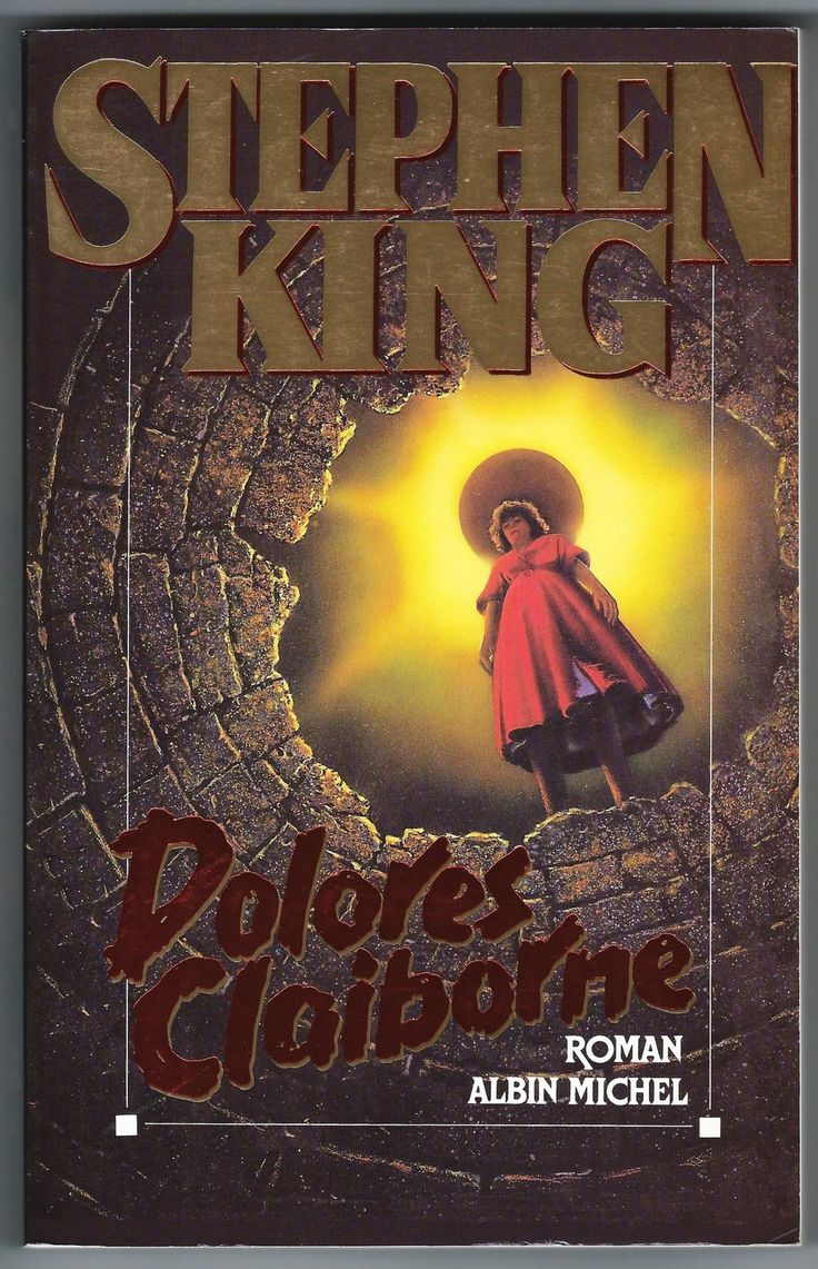 Dolores Claiborne Stephen King French Book 1st Edition Albin Michel 1993