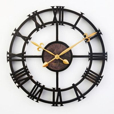 Type: Wall Clocks Diameter: 43 cm Brand Name: Wall Clocks Length: 430 mm Motivity Type: Digital Applicable Placement: Living Room Body Material: Plastic Width: 43 cm Combination: Separates Shape: Circ