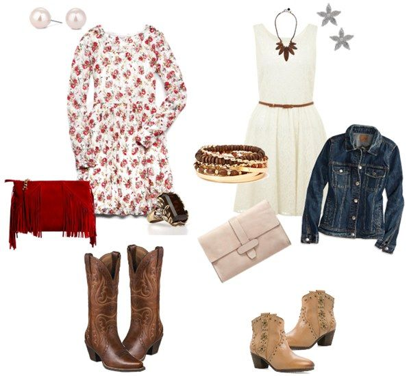 Western themed guest outfits gold cup polo 2015 country for Country dresses for wedding guest