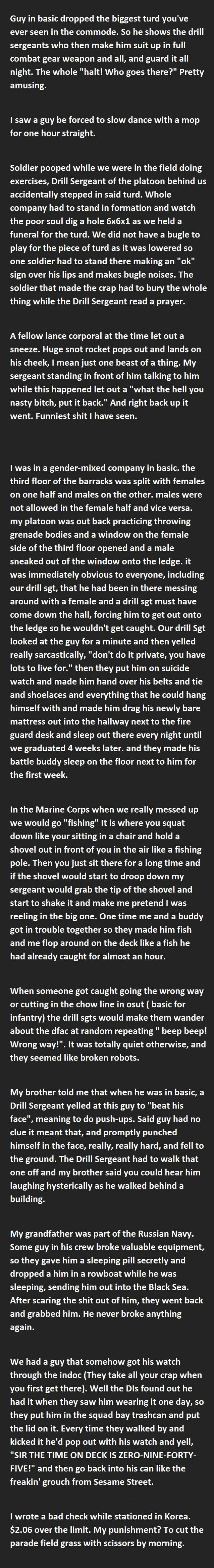 20 Funny Military Punishments Part 2