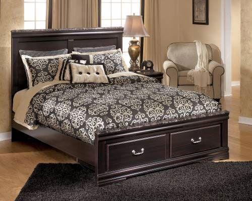 """Rent Furniture Ashley """"Esmarelda"""" Queen Bed"""