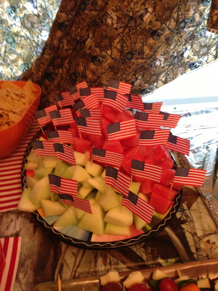 Merica for Duck Dynasty themed party for my hubby