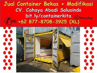 0877-8708-3925 Penjual Container Office Di Surabaya   +62 877-8708-3925 (XL), Jual Container Modifikasi   Jasa Pembuatan Kontainer Bekas dan Custom