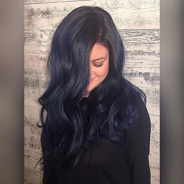 Phenomenal 25 Best Ideas About Midnight Blue Hair On Pinterest Dark Blue Hairstyles For Women Draintrainus