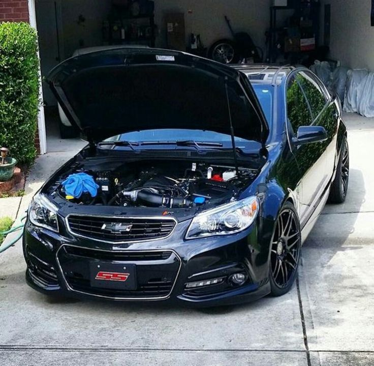 Blacked out Chevy SS