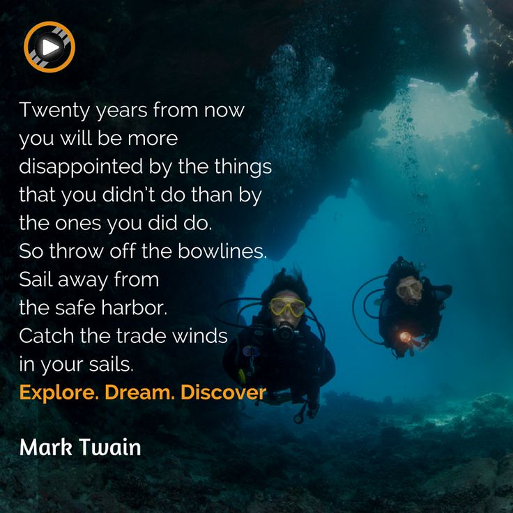 We just love that quote! Ready to sail? #quoteoftheday #motivation #unknown #adventure #discover #dream #explore