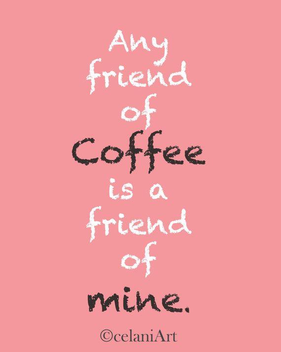 I do love coffee