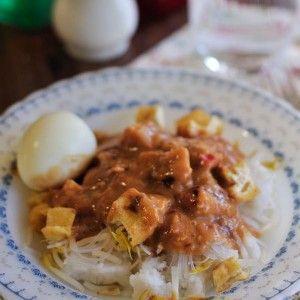 Ketoprak, West Java - Indonesian Vegetarian Food